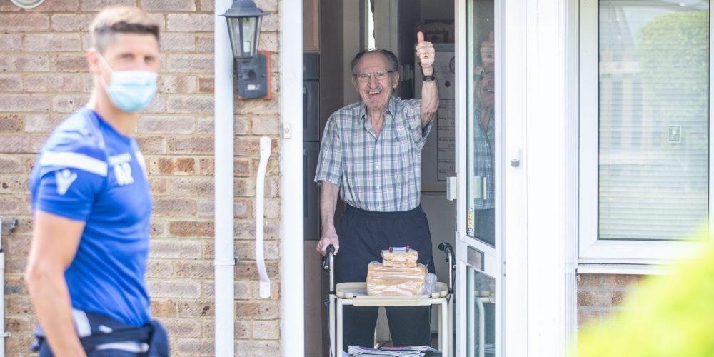 Alex Revell Visits Senior Citizen